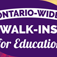 CUPE Walk in for Education