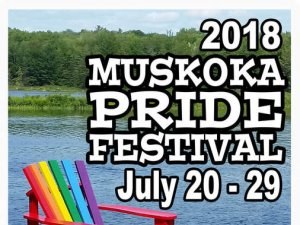 Celebrating 10 Years of Muskoka Pride!